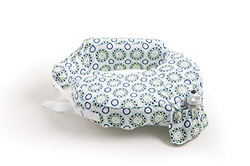 Zenoff Products My Brest Friend Inflatable Travel Nursing Pillow,Sparkles, One Size Fits Most