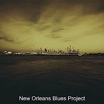 Charming Slow Blues Guitar - Background for French Quarter Bars