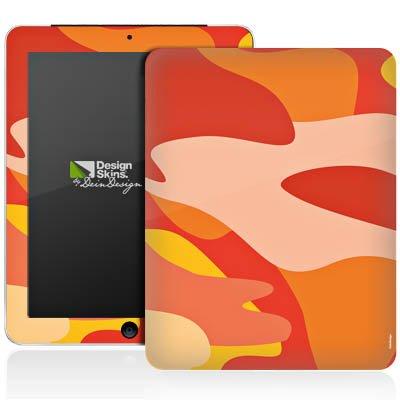 Apple iPad 1 Aufkleber Schutz Folie Design Sticker Skin Camouflage Bundeswehr Orange