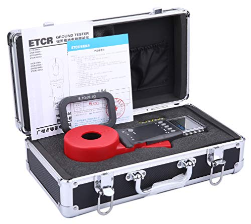 ETCR2100A+ Digital Clamp Ground Earth Resistance Meter Tester