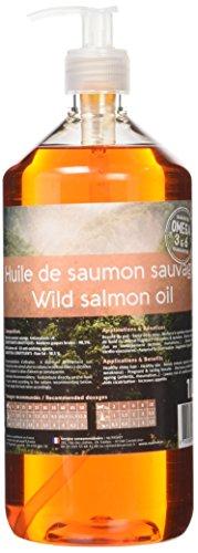 Nutrivet Inne Olio di Salmone, Flacone da 1litro