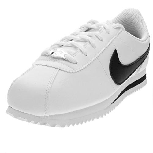 Nike Cortez Basic SL (GS), Scarpe Running Uomo, Bianco (White/Black 102), 39 EU