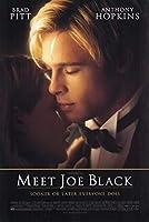 直輸入、小ポスター、米国版「ジョー・ブラックをよろしく」ブラッド・ピット、クレア・フォーラニ