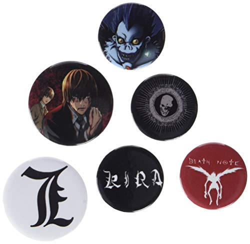 GB eye - BP0641 - Death Note Mix Lot de badges