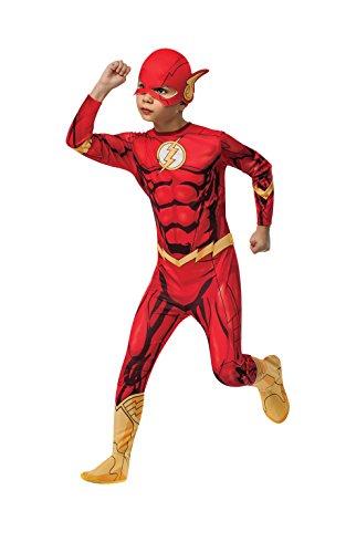 Rubies - Disfraz Marvel The Avengers El Flash para niños, 117 cm (881332_S)