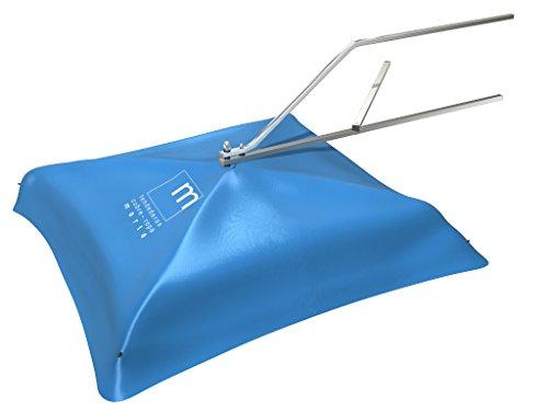 TENDEDEROS MARTA Tendedero Basic Manual Giratorio de Acero Inoxidable Cubierto para Exteriores 10 m de tendido