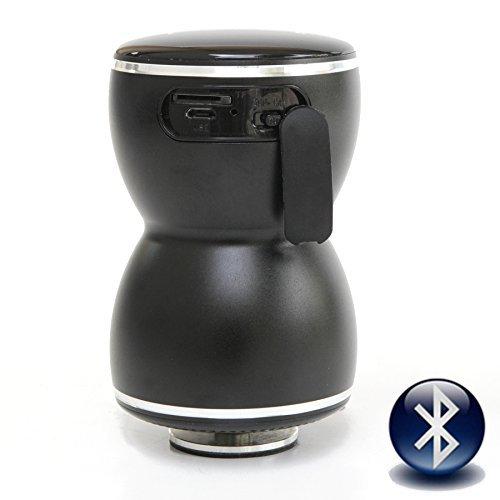 Vibe Thor - Altavoz portátil de 20 W (3.5 mm, Bluetooth, Ranura para Tarjeta microSD), Negro