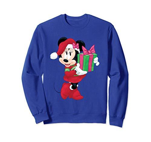 Disney Minnie Mouse Holiday Present Graphic Sudadera
