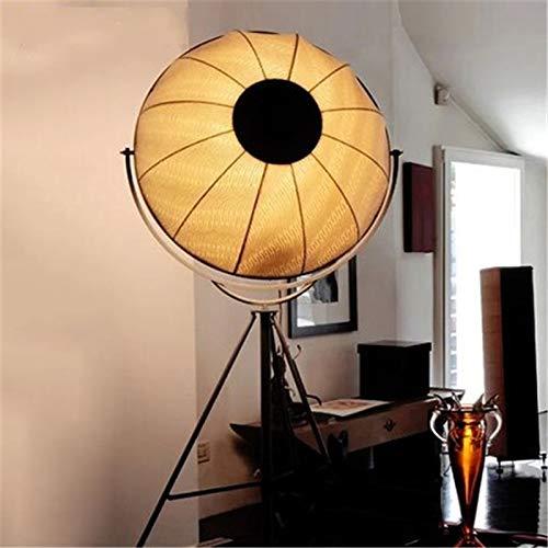 JSJJAER Lampara de pie Adornos de la luz del Piso Forma satélite Ajustable Estudio de la Foto de la lámpara de Estar de luz Ambiental Decoración hogareña acogedora (Body Color : All White)