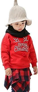 MARIAH(マリア)スウェット 子供服 秋冬着 キッズ 裏起毛トレーナー 秋冬 クルーネック クリスマス