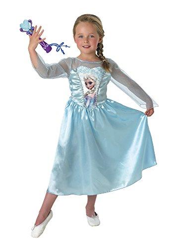 Frozen kostuum Elsa Classic Met microfoon Small blauw