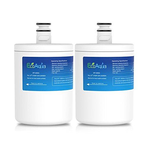 EcoAqua Filtro de Agua LG LT500P 5231JA2002A - 5231JA2002A - s - Paquetes de 1, 2, 3 y 4