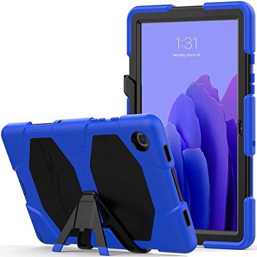 TECHGEAR Custodia Robusta Compatibile con Nuovo Samsung Galaxy Tab A7 10.4  2020 (SM-T500 SM-T505) Resistente agli Urti e all impatto - Cover con Supporto per i Bambini, Lavoro e Scuola [Blu]