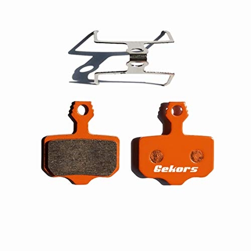 Gekors Ceramic Bicycle Disc Brake Pads for Avid Elixir R CR 1 3 5 7 9 X.0 XX,1 Pair with a Spring
