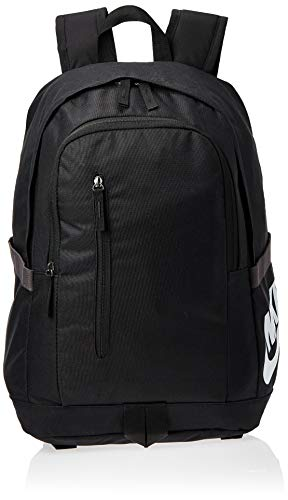 Nike Unisex-Erwachsene All Access Soleday Backpack Ba6103-013 Rucksack, Schwarz (Black), 15x30x43 cm