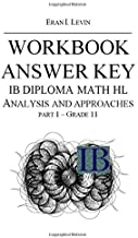 WORKBOOK ANSWER KEY IB MATH HL ANALYSIS AND APPROACHES PART 1 - GRADE 11