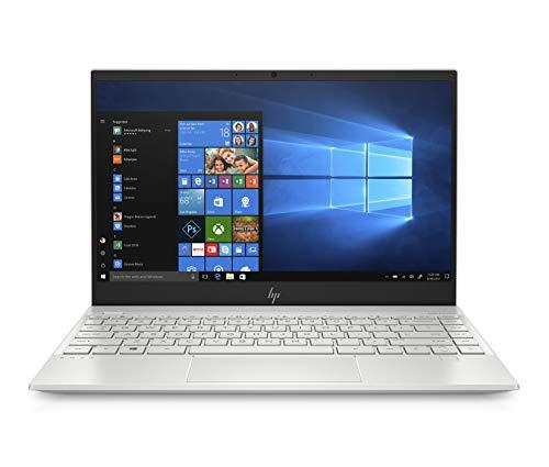 "HP Envy 13"" Thin Laptop W/ Fingerprint Reader, FHD Touchscreen, Intel Core i7-8565U, 8GB SDRAM, 256GB SSD, Windows 10 Home (13-aq0005nr, Natural Silver)"