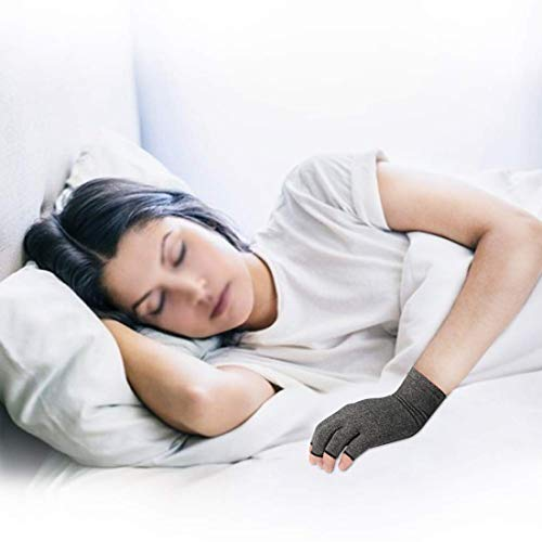 2 Pairs Arthritis Gloves for Women & Men - Compression Gloves for Arthritis Pain Relief - Rheumatoid & Osteoarthritis, for Typing and Daily Work.(M)