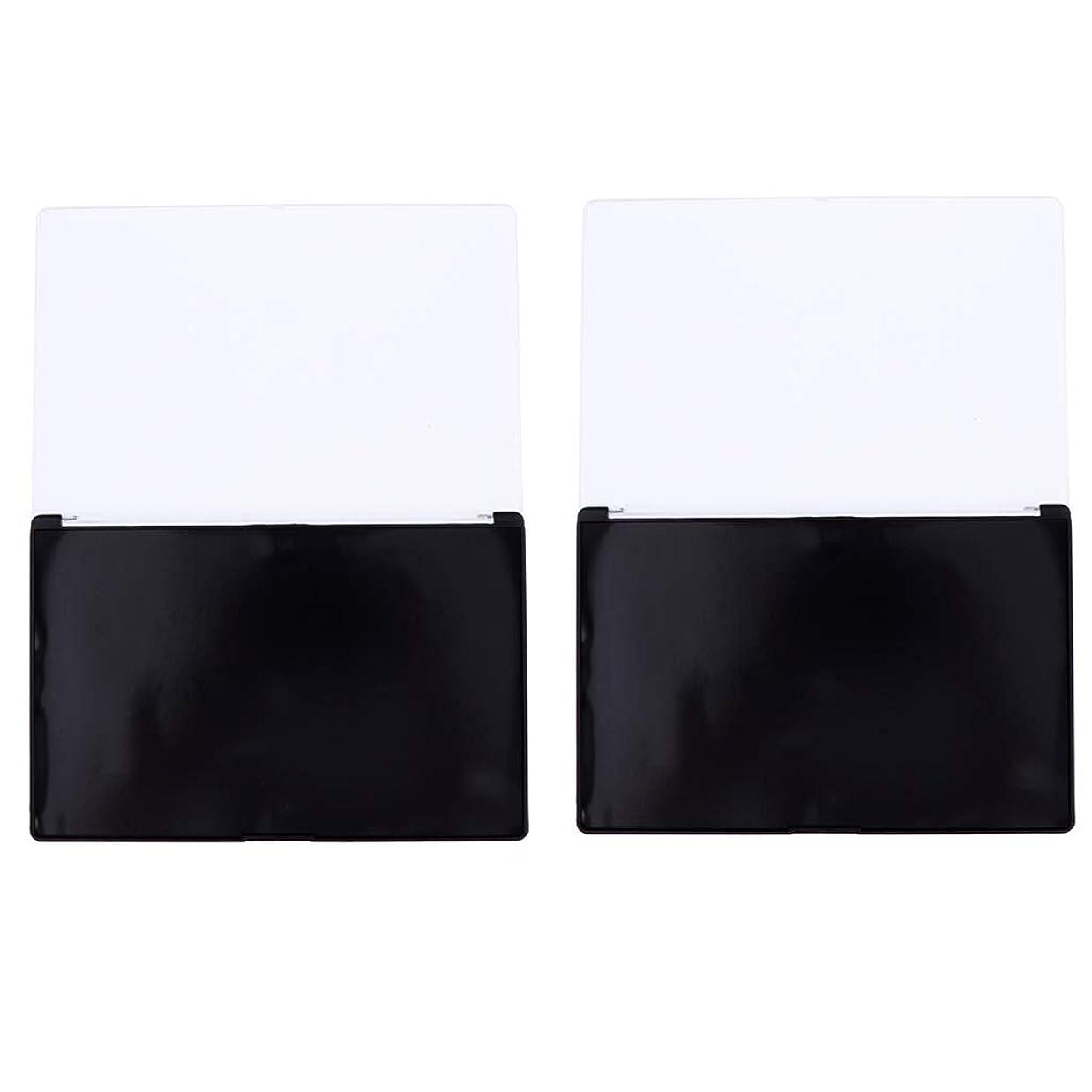 気分が悪い専門スリンク磁気パレット ボックス アイシャドーウ パウダー 化粧品 ケース DIY 旅行 メイクアップボックス