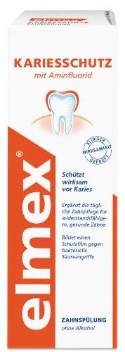 elmex Kariesschutz Zahnspülung, 400 ml