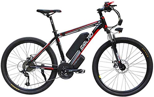 Bicicleta Eléctrica Plegable Bicicleta eléctrica de nieve, bicicleta eléctrica Ion de litio Bicicleta de montaña Asistida de la bicicleta de montaña Adulto Fitness 48V Capacidad de gran capacidad Bate