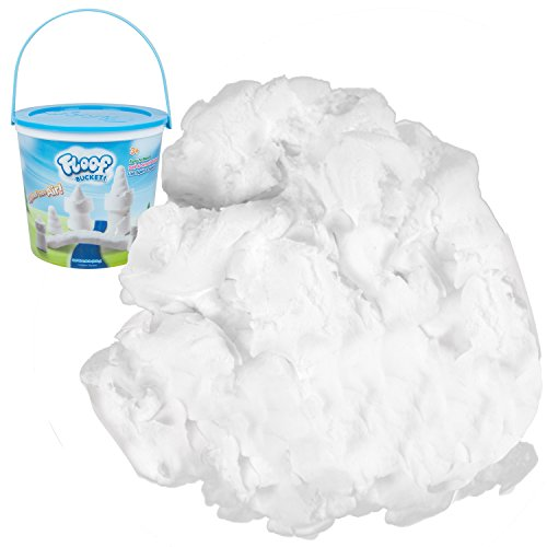 Play Visions Floof Modeling Clay- Reusable Indoor Snow - Endless Creations Possible, Mold Any Shape Or Design - 240 Grams.