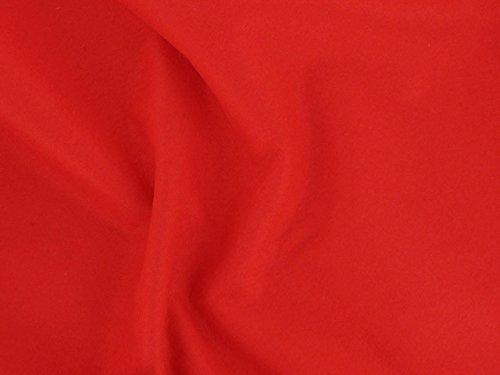 Dalston Mill Fabrics–Fieltro acrílico Tela por Metro, 147cm de Ancho, 1m de Longitud, Rojo
