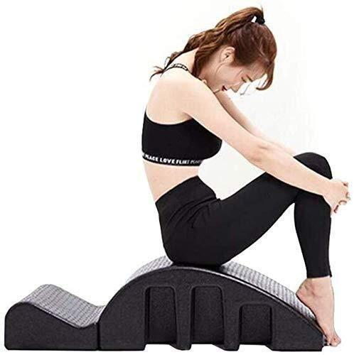 Pilates Spine Spine Corrector multifuncional Cúpula Round Mountain cama de masaje Pilates yoga ayuda a aliviar el dolor y mejorar el equilibrio columna vertebral Pilates Mesa de masajes lumbar masajea