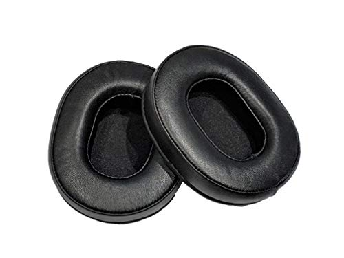 Premium Sheepskin Ear Pads Compatible with Audio Technica ATH-M50 M50S M50X M40 M40S M40X M30 M30X M20 M20X ATH-MSR7 ATH-MSR7NC. Premium Protein Leather | Soft High-Density Foam | Easy Installation