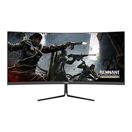 Viotek GNV29CB Ultrawide Curved 29-Inch Gaming Monitor | 120Hz UWFHD 21:9 w/Immersive 1200R VA Panel | FreeSync, G-SYNC-Compatible | 3-Year Warranty, 0-Tolerance Dead Pixel Policy (VESA)