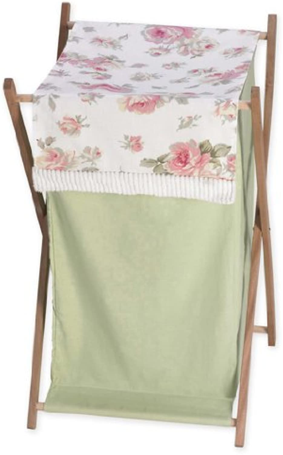 Baby and Kids Clothes Laundry Hamper for Sweet Jojo Designs for Riley's pinks Bedding