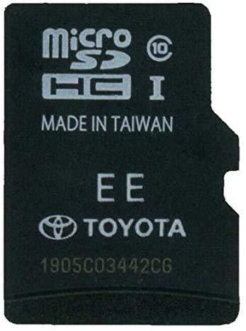 Toyota Navigation SD Card Newest MAP 2020 86271-0E072