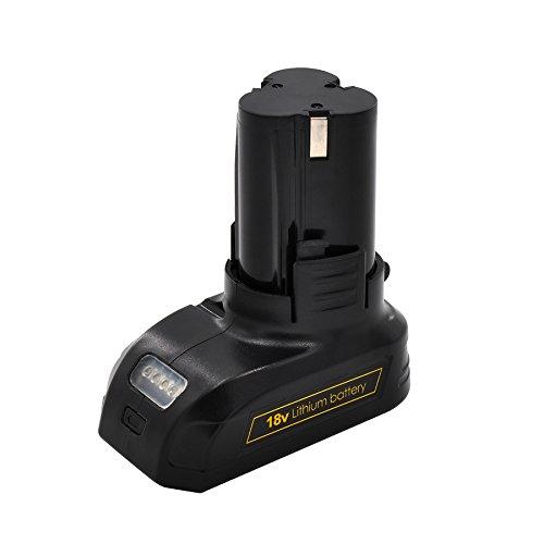 Powerland 1500mAh Ersatzbatterie für Akku-Bohrschrauber D011 14.4V / 16V 18V / 20V (18V/20V)…