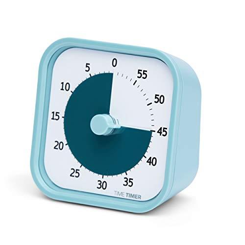 Time Timer Home Mod — Temporizador Visual de 60 Minutos edición casa – Herramienta de Estudio, Temporizador para Escritorio de niños, Oficina y reuniones con Funcionamiento silencioso