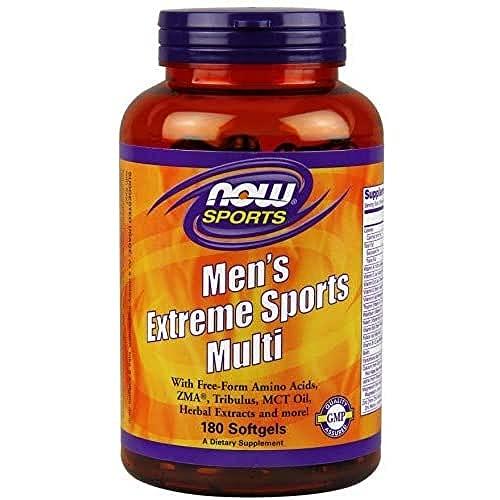 Now Uomo Active Sport Multi Supplemento Per Uomo 180 Softgels - 90 g