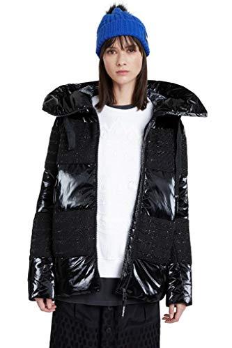 Desigual Alfa Mäntel Women Schwarz - L - Daunenjacken Outerwear