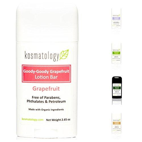 Kosmatology Goody-Goody Grapefruit (Grapefruit) Organic Lotion Bar, 2.65 oz