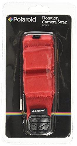 Schwimmendes Handgelenkband (rot) aus Polaroid zum Schwimmen von Kameras, Videokameras und Unterwassergehäusen.