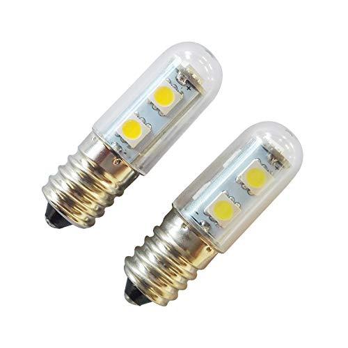 AKDSteel Lampadina a LED E14, 1,5 W, SMD5050, a risparmio energetico, E14, 110 V, luce bianca calda,...