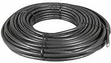AUDIOVOX DH100QCR 18 American Wire Gauge Quadshield Coaxial Cable, 100-Feet, Black