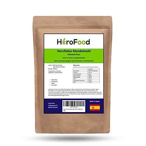 Mandelmehl - 850g blanchiertes Mandelmehl - Unprocessed Almond Flour – Low Carb & Vegane Proteinquelle - geschmacksintensives Mehl mit gesunden essentiellen Mandelölen