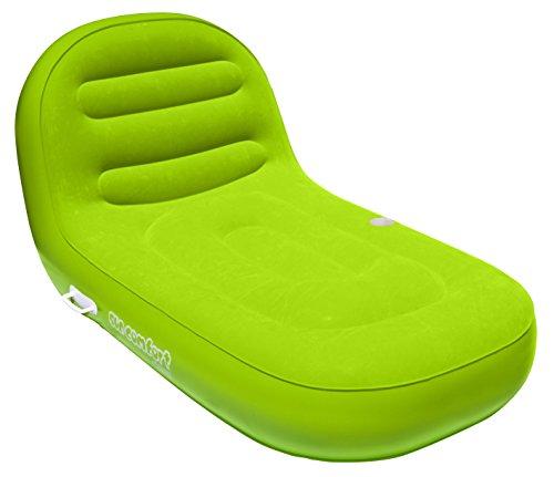 Airhead , aufblasbar ahsc-009Sun Komfort Cool Wildleder Recamiere, Unisex, Lime