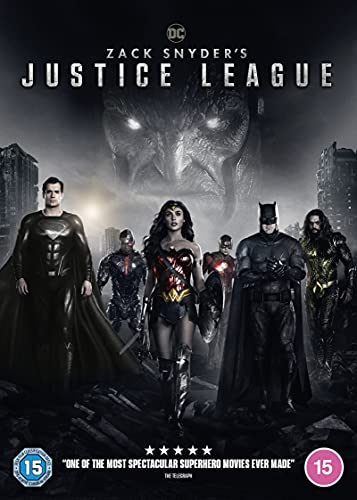 Zack Snyder's Justice League [DVD] [2021]