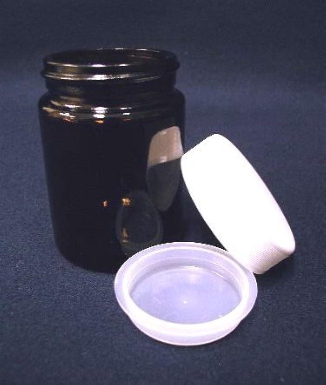 嫌悪称賛肥沃な茶遮光ナンコー瓶/中蓋付き 100ml 【茶遮光ガラスジャー?クリーム容器?詰め替え容器】【容器?道具類】【いまじん】