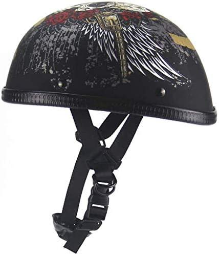 DXMRWJ Adult Max 41% OFF Retro Half Helmet Men DOT for ! Super beauty product restock quality top! Certifi Women