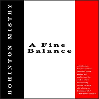 A Fine Balance audiobook cover art
