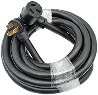 Parkworld 884937 Industrial NEMA 10-50 Extension Cord, 3-Prong, 50 AMP, 250 Volts, 12500 Watts. (20FT)