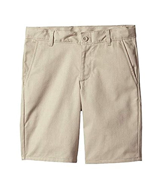 ノーティカ Nautica Kids キッズ 男の子 ショーツ 半ズボン Khaki Husky Flat Front Twill Shorts (Big Kids) [並行輸入品]