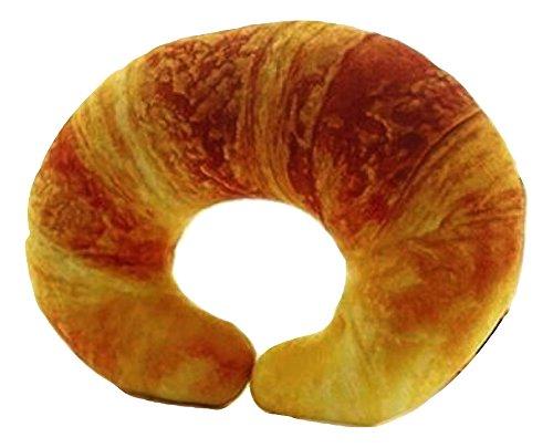 もっちり パン型クッション 食パン クロワッサン おもしろ グッズ TOKYO GOODS MARKET (クロワッサン)