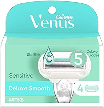 4-Count Gillette Venus Extra Smooth Sensitive Women's Razor Blades